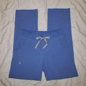 Figs Scrub Pants in Ceil Blue size Small EUC